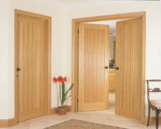 Lesena vrata Markelj in vrata Peternelj