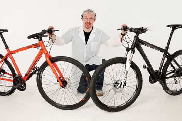 Razlika med cestnim in gorskim kolesom