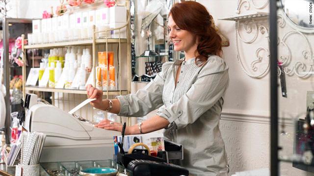 Delo v trgovini, prodaja izdelkov ali storitev