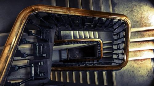 Moderne lesene stopnice po meri